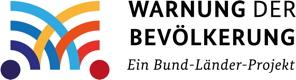 Warnung der Bevölkerung Logo